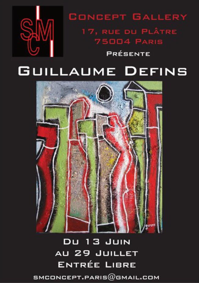 Guillaume Defins, SMC Gallery, Paris.