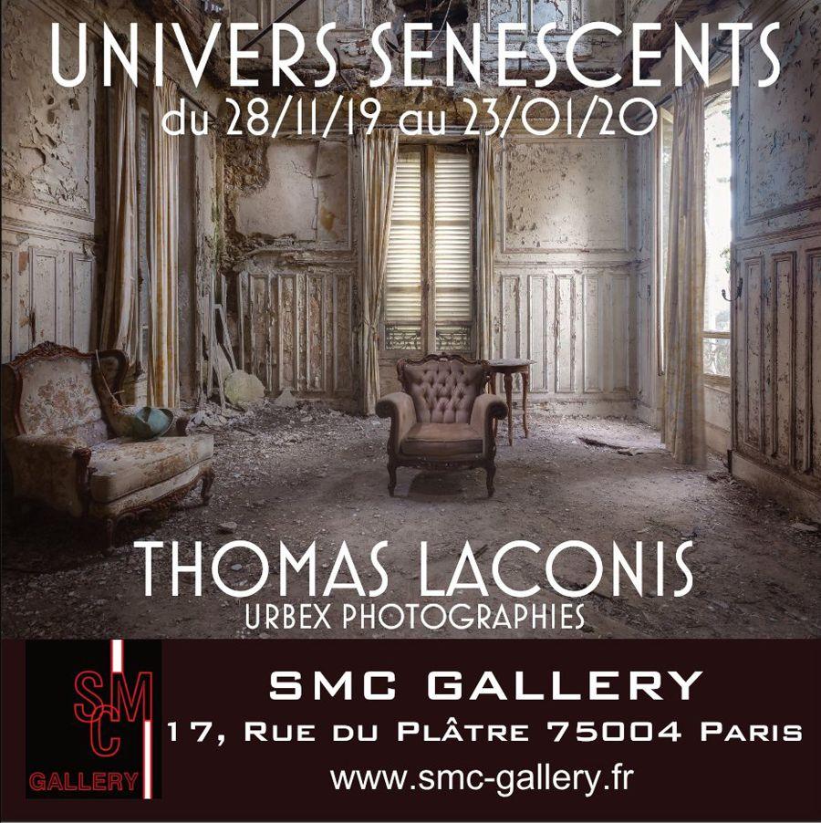 Univers Senescents de Thomas Laconi, SMC Gallery, Paris.